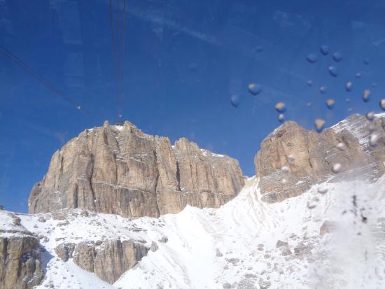 Sasso Pordoi - Picture of La Terrazza delle Dolomiti, Canazei ...