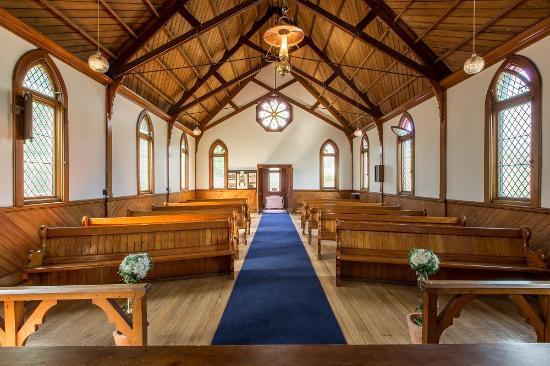 Ferrymead Heritage Park: You can get married in our beautiful Church, built in 1911.