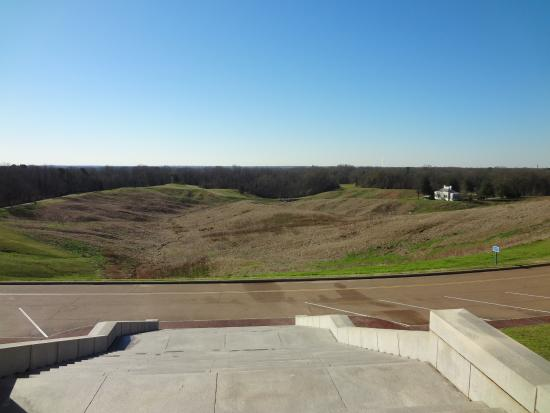 Vicksburg, MS: view from Illinois Monument