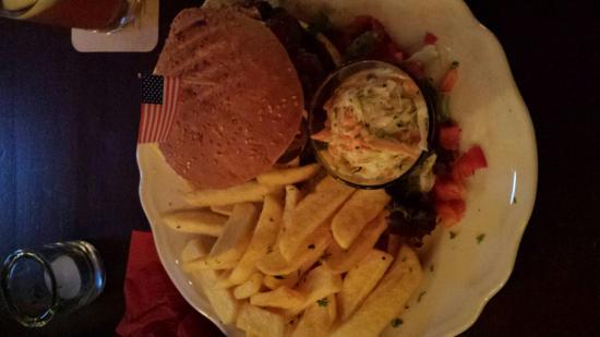 Schwetzingen, Alemania: Burger :)