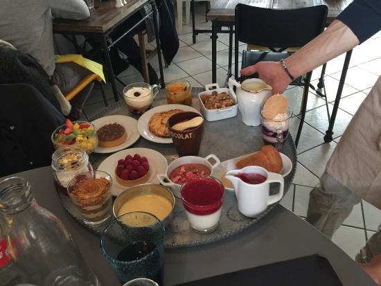 Gex, Francia: Choix parfait de dessert