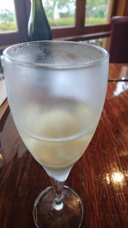 McLaren Vale, Australia: Lime & lychee sorbet with a splash of The Money Spider Roussanne