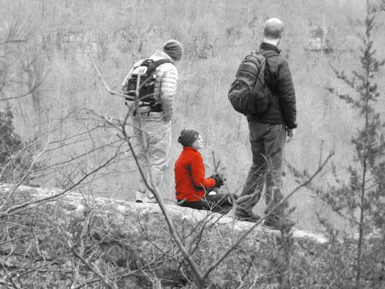 Arkansas : Hikers.