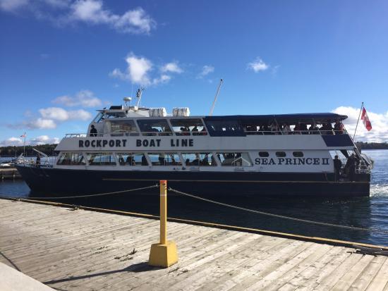 Rockport, Canadá: Barco