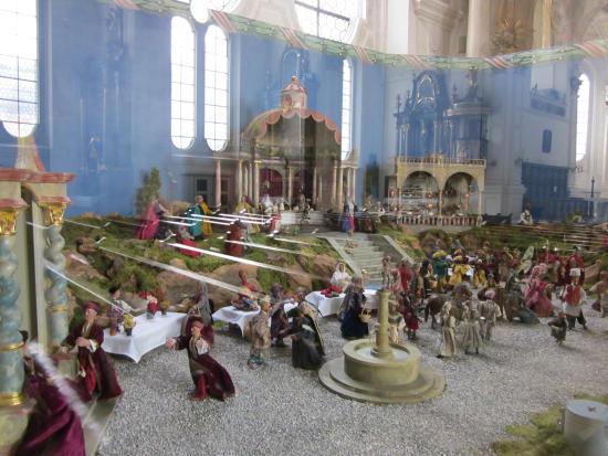 Krippe Hochzeit Von Kana Bild Von Stadtpfarrkirche Maria