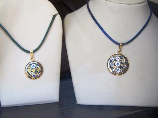 Handmade pendants at damascene damasquinado toledo spain ornately carved pendants from damascene damasquinado aloadofball Choice Image