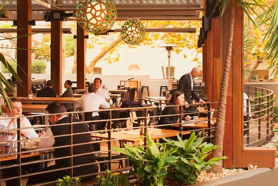 North Sydney, Australien: Outdoor Covered Dining