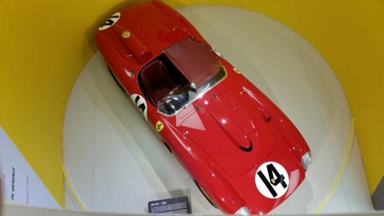 Maranello, Italia: Ferrari clássica 290MM 1956