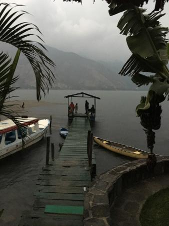 Eco Hotel Uxlabil Atitlan: Aussichten (views) from Hotel
