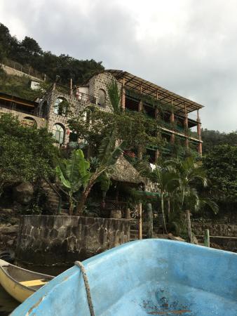 San Juan la Laguna, Guatemala: Aussichten (views) from Hotel