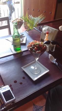 Bar Restaurante YaVoy: coctel de Conchas