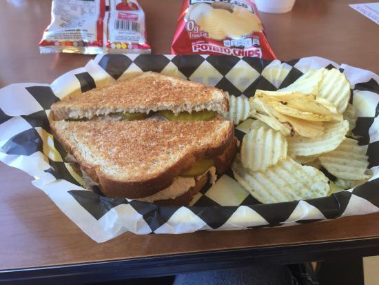 Traditions Soda: Great Tuna salad sandwich:)