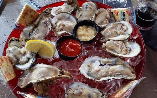 Palmetto, FL: James River Oysters - First dozen (compare to 2nd dozen)