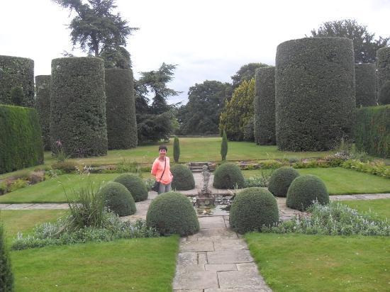 Northwich, UK: Arley Hall garden