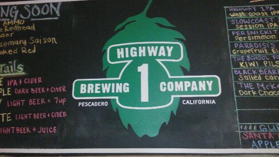 Pescadero, CA: Highway 1 Brewing Co.