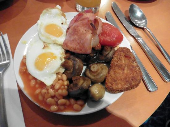 Bramhope, UK: Small plates at breakfast time need not mean less than a full English!