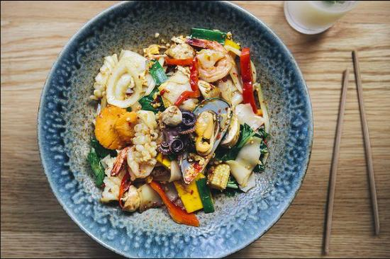 Greater Canberra, Australia: Pad Kee Mao Seafood © The Canberra Times