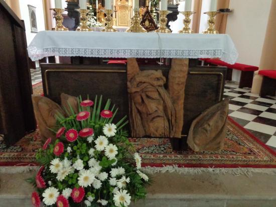 Radovljica, Slovenya: altar