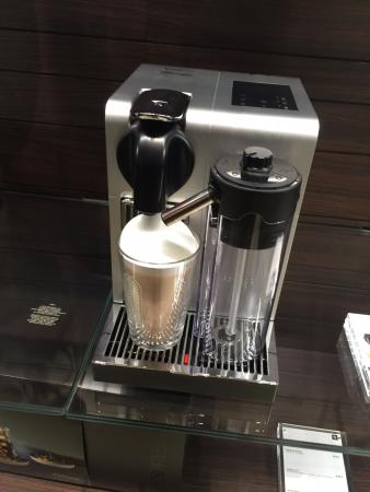 nespresso machine picture of nespresso boutique paris tripadvisor. Black Bedroom Furniture Sets. Home Design Ideas