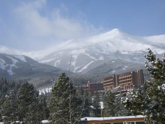 The Corral at Breckenridge: View from deck