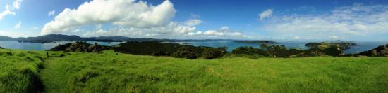 Paihia, Nueva Zelanda: Stunning scenes of the Bay of Islands