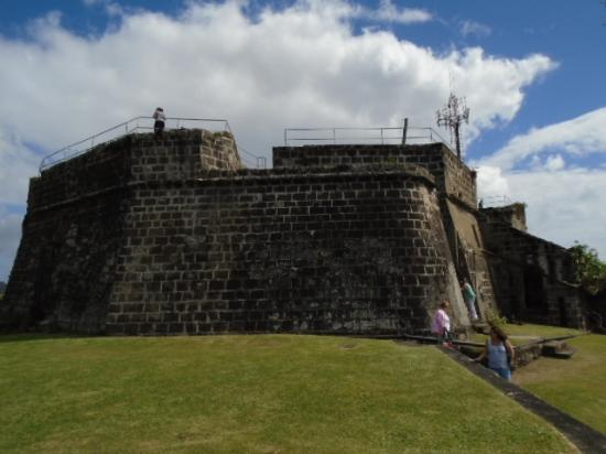 Fort Frederick: The fort