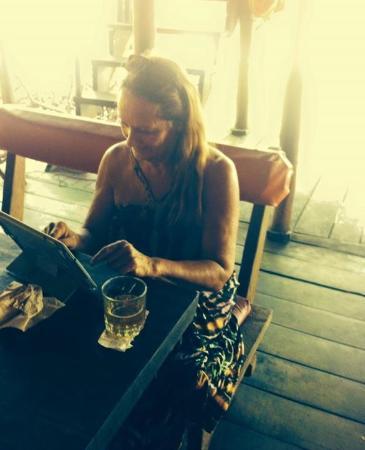 Isla Popa, Panama: The beautiful, welcoming Francine