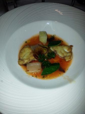 Altopalato: Cod filets in tomato broth - yummy!