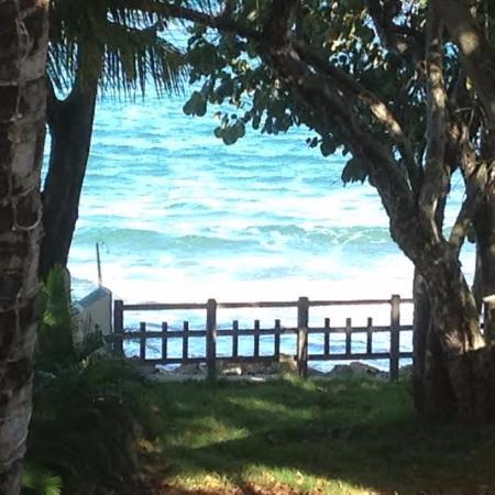 Hotel Alegria: Terraza fte al mar