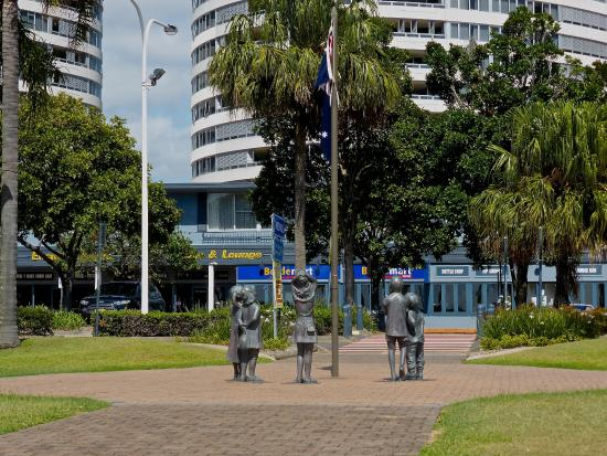 Tweed Heads, Australia: Chris Cunningham Park, Advance Australia Fair Monument