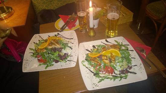 Oetz, Austria: Insalate miste
