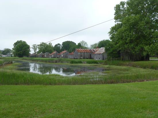 Thibodaux, Luizjana: Anciennes cabanes d'esclaves