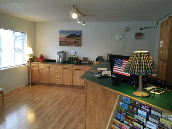Grants Pass, Oregón: Front Desk
