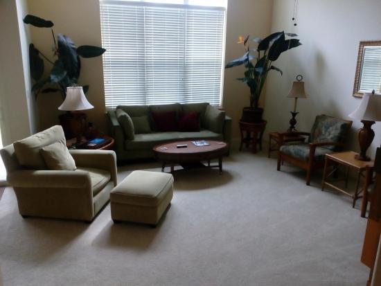 Aston Waikoloa Colony Villas: Living Room