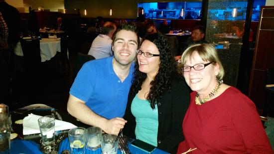 Blueacre Seafood : Anita, Matt and Becky at Blue Acre Restaurant
