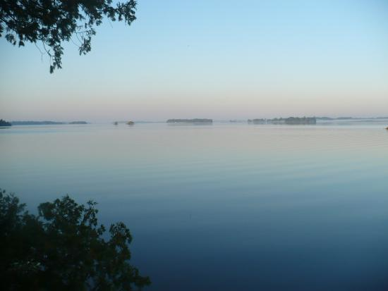 Gananoque, Canada: Early morning view.