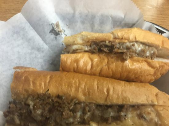 Chicken Philly - Picture of Philly's Best Cheesesteak ...