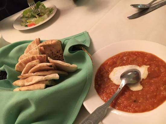 Bayside, État de New York : sauteed eggplant and bread