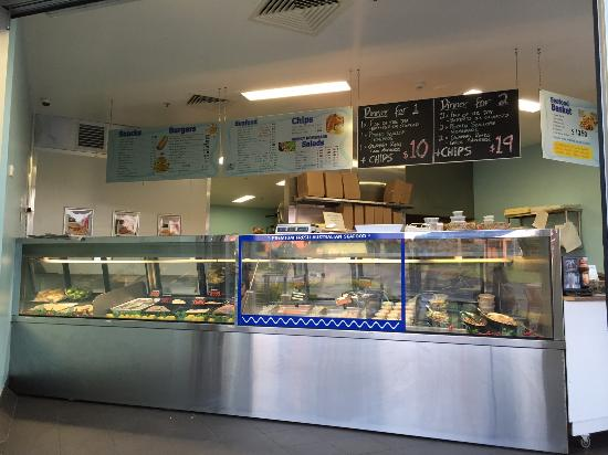 Fish Depot Toowoomba Display of Seafood