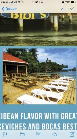 Carenero Island, Panamá: Deck. Solarium