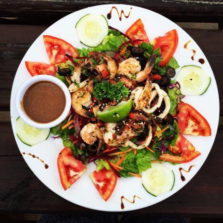 Carenero Island, Panamá: Salads