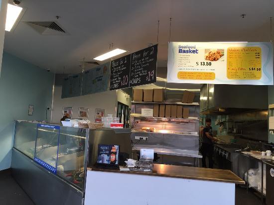 Fish Depot Toowoomba Interior