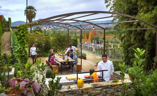 Samodaes, Portugal: Outdoors BBQ