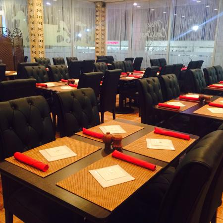Fasil Mediterranean: We can dine up to 100 people