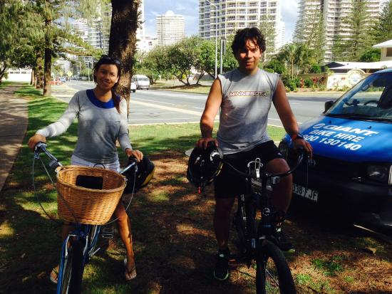 Main Beach, Australië: Beach Bikes Gold Coast