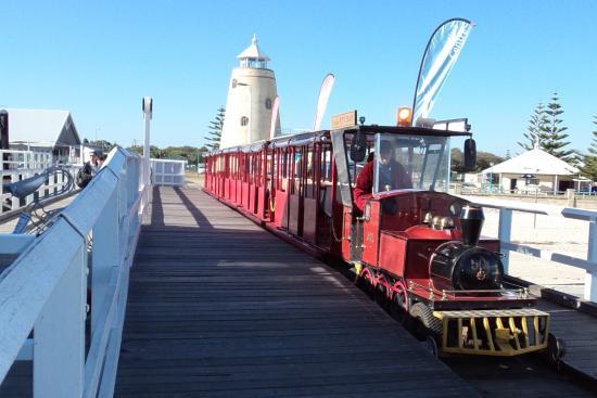 Busselton Jetty & miniture train