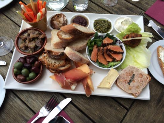 Matakana, Nueva Zelanda: A shared platter is always a great starter