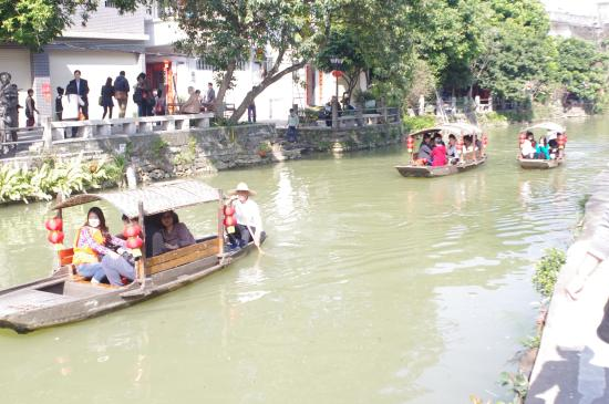 Guangdong, China: Canal trips are popular