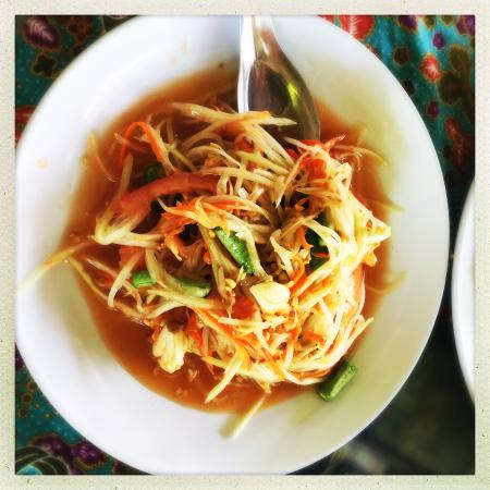 Ton Ma Yom Thai Food Restaurant: 쏨땀(파파야샐러드)