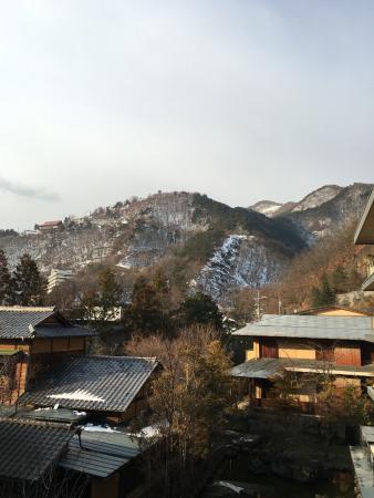 Sasaya Hotel : 食事会場からの眺め